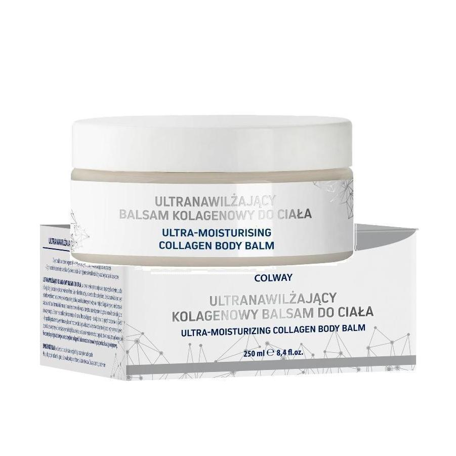 Colway Ultra-Moisturising Collagen Body Balm Balsam Ultranawilżający Kolagenowy do Ciała 250ml